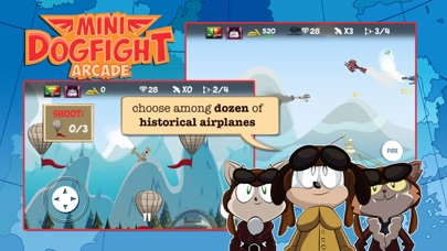 Screenshot from Mini Dogfight Arcade