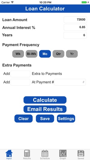 Loan Calculator Professional On The App Store