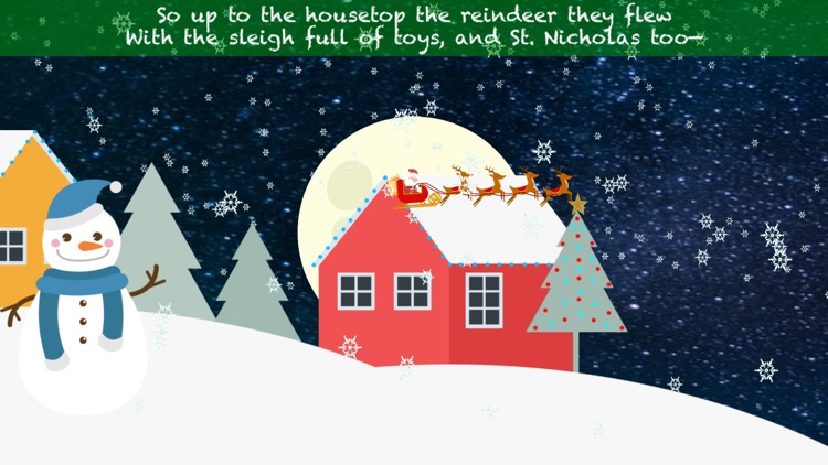 The Night Before Christmas Interactive Book screenshot-3