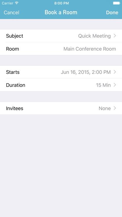 Roomr Pro - Meeting Room App screenshot-4