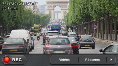 Screenshot for Car Camera DVR. Pro in Lebanon App Store