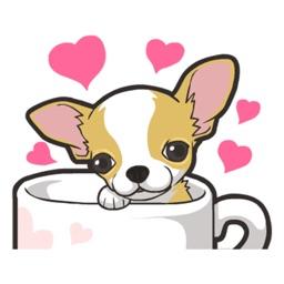 Chihuahua Dog - Stickers