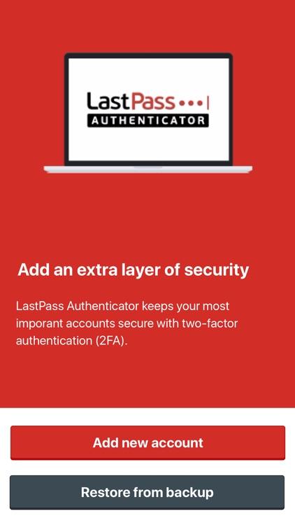 LastPass Authenticator screenshot-0