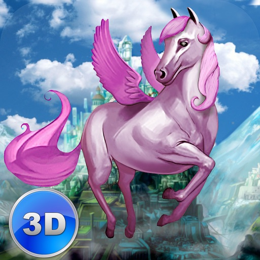 Flying Pony: Small Horse Simulator 3D Full icon