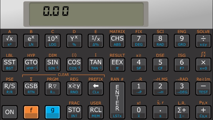 Touch 15i scientific RPN calculator