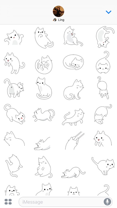 Yuki Neko - Kitty Cat Fun Pet Stickers