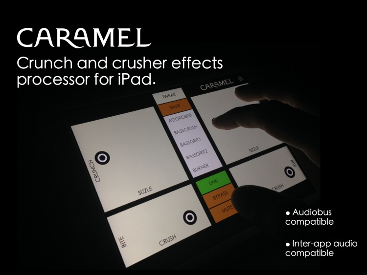 Caramel - Crunch and Crusher Effects Processor screenshot-0