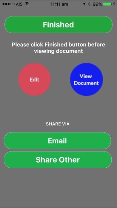 Screenshot of RentalPal Pro App