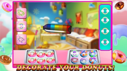 Rainbow Donuts Makers – Baking Chef screenshot four
