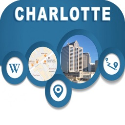 Charlotte NC USA Offline Map Navigation GUIDE