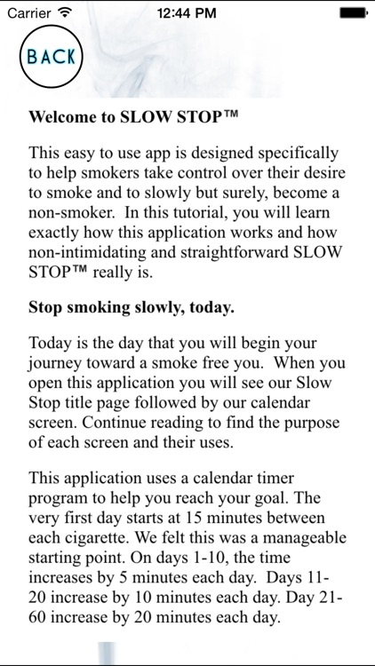 Slow Stop ™ -Quit Smoking now and stop for good screenshot-3