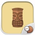 Aloha Set Cute Hawaiian Stickers for iMessage icon