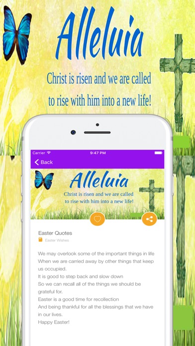 Easter greetings quotes wishes sayings messages app price drops screenshot 8 for easter greetings quotes wishes sayings messages m4hsunfo