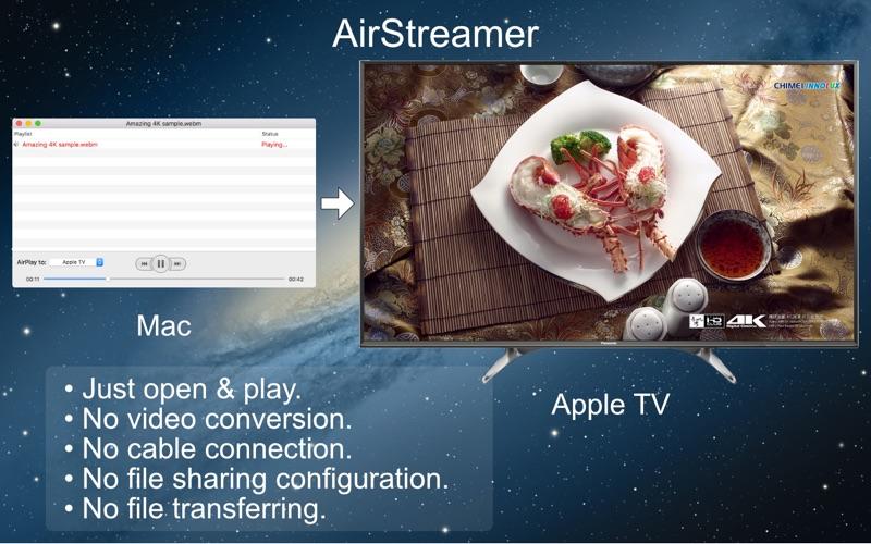 AirStreamer – for Apple TV 1