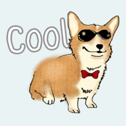 Corgi Dog Sticker