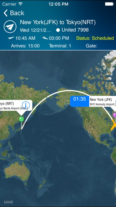 Tokyo Narita Airport Pro (NRT) + Flight Tracker