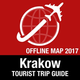 Krakow Tourist Guide + Offline Map