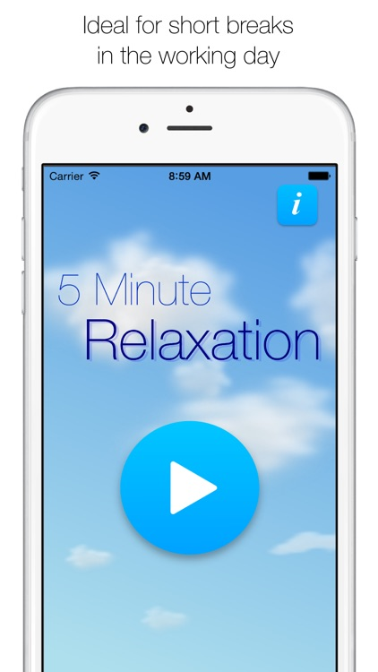 5 Minute Relaxation - Guided meditation screenshot-3