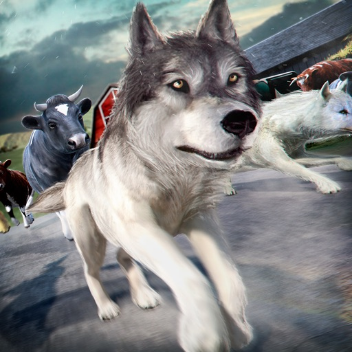 Wolf Simulator 2016 . Animal Running Game for Free iOS App