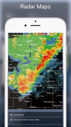 Live Weather Weather Radar Forecast App On The App Store