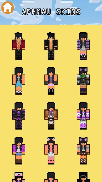Aphmau Girls and Boys Skins For Minecraft PE