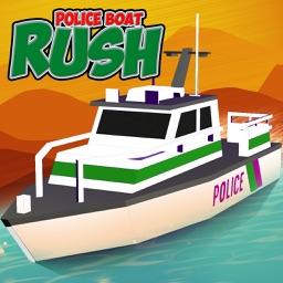 Police Boat Rush : 3D Police Boat Racing For kids