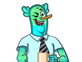 Office Clerk! Stickers
