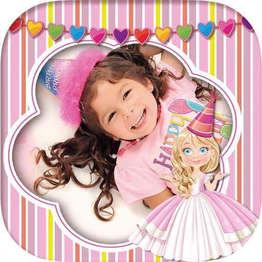 Fairy princess photo frames for kids – Editor