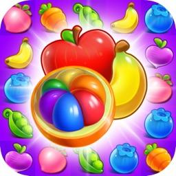 Happy Garden Fruits Matching