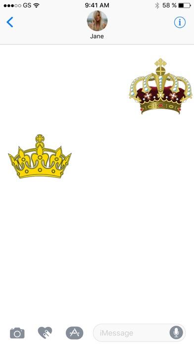 Crown Sticker Pack!Screenshot von 2