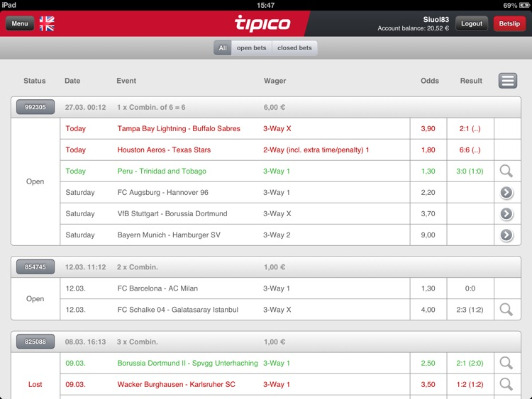 Tipico for iPad screenshot-4