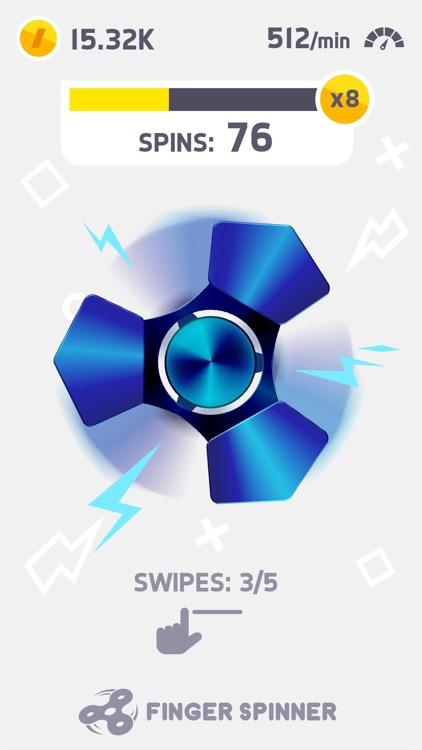 Finger Spinner app image