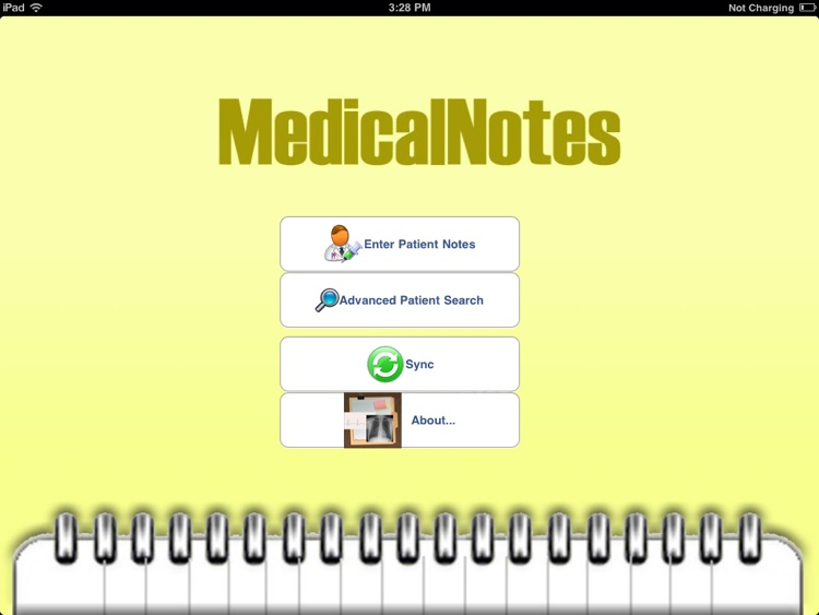 medicalNotesHD screenshot-0