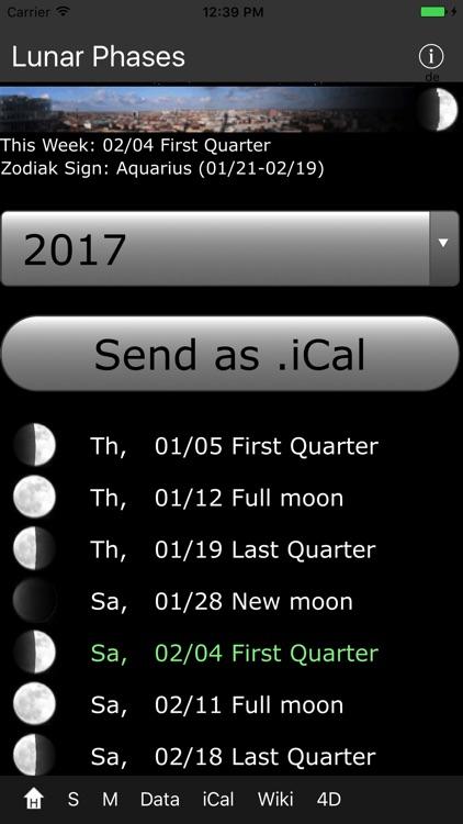 Lunar Phases screenshot-4