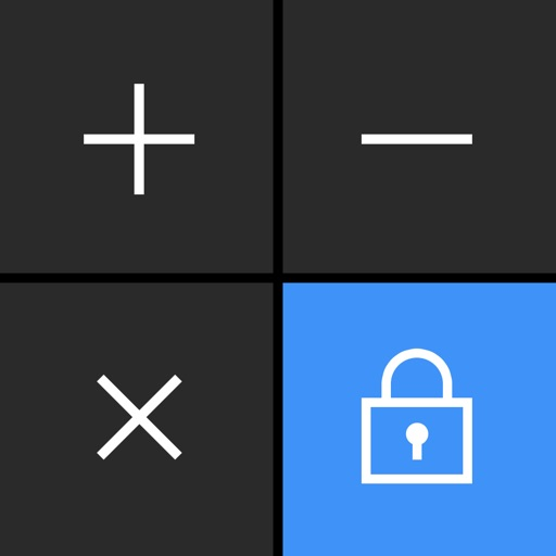 Secret Calculator + Private photo and video vault app logo