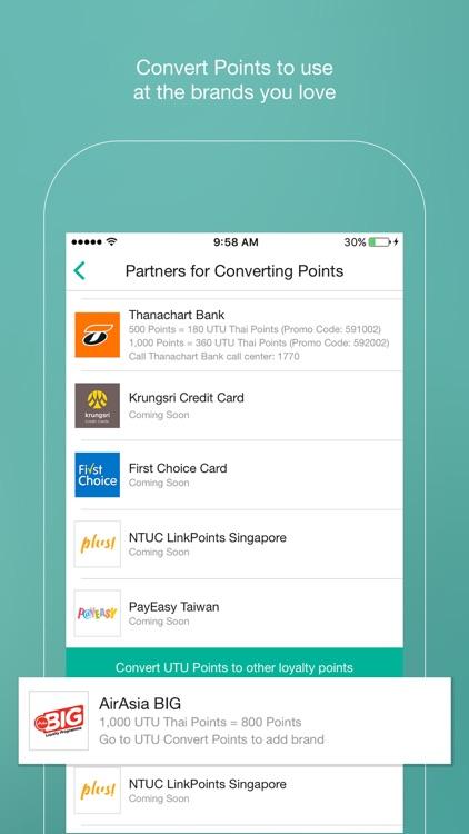 UTU Rewards Thailand screenshot-3