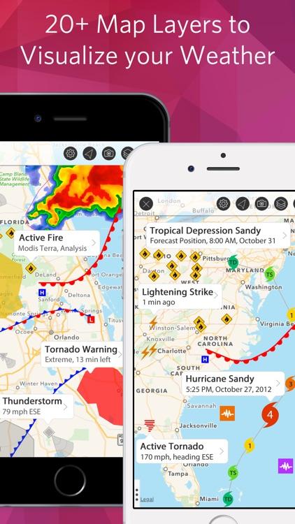 Weather Mate - NOAA Radar Maps screenshot-4
