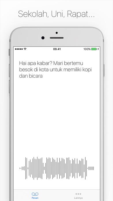 Screenshot for Textify Jangan dengarkan,Baca! in Indonesia App Store