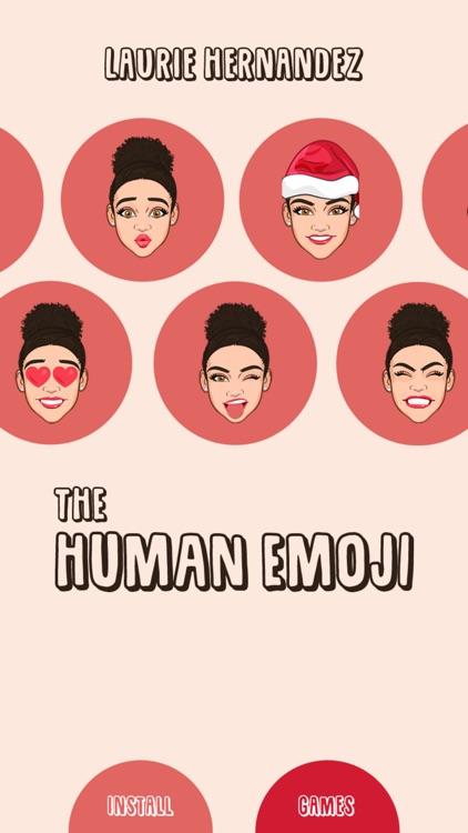 Laurie Hernandez the Human Emoji