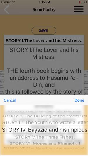 Rumi Poetry Mathnavi 6 Volume Set Mystic En App Store