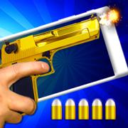 战争武器。 射击游戏