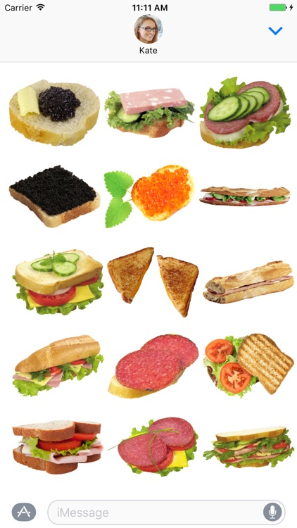 Burger Lovers Sticker Pack