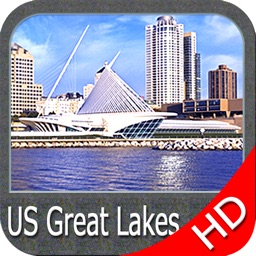 US Great Lakes HD - GPS Map Navigator