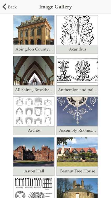 Pevsner's Architectural Glossary screenshot-3