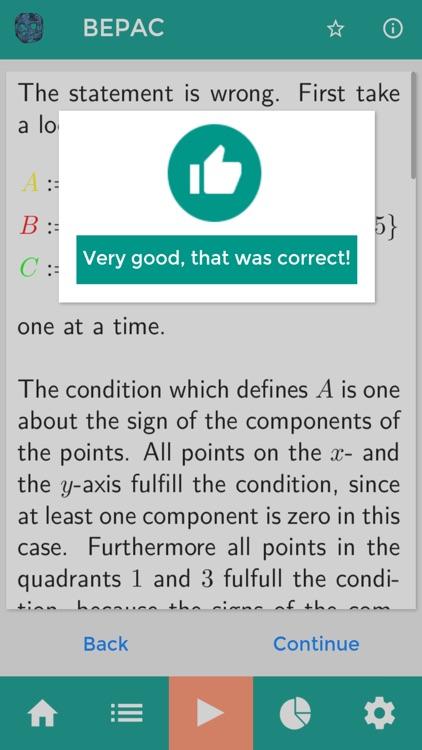 BEPAC - Math for students screenshot-3