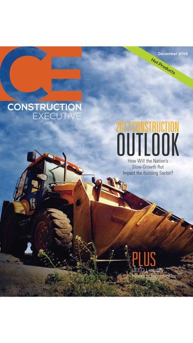 Construction Executive Mag screenshot one