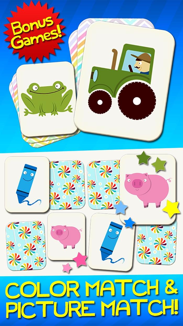 Number Games Match Game Free Games for Kids Math Screenshot