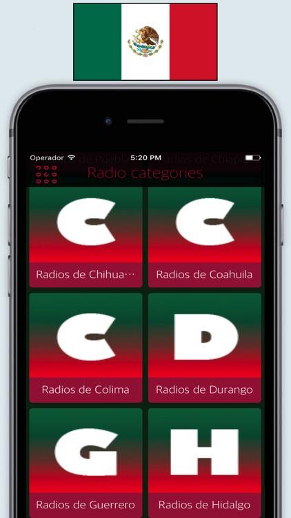 Radio Mexico FM AM - Live Radios stations Online