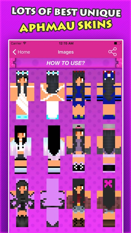 NEW APHMAU SKINS FREE For Minecraft Pocket Edition