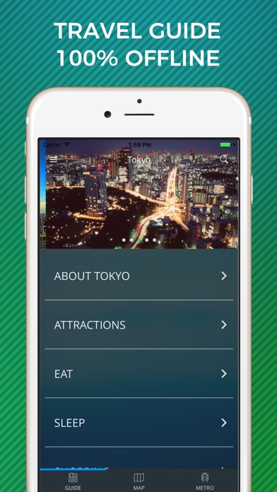 Tokyo Travel Guide with Offline Street Map